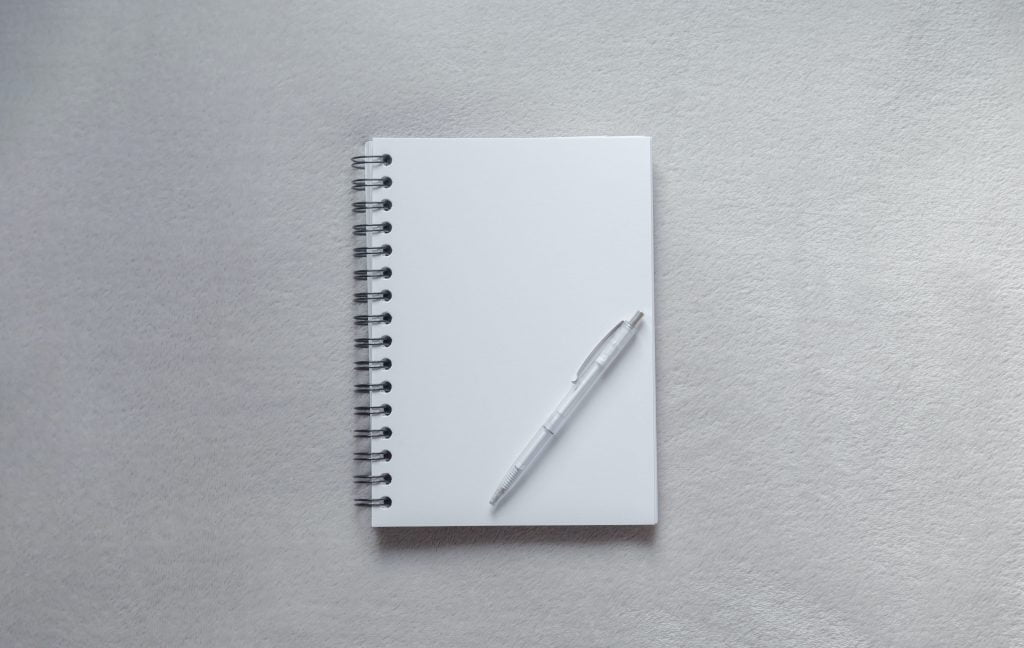 notepad for aviation