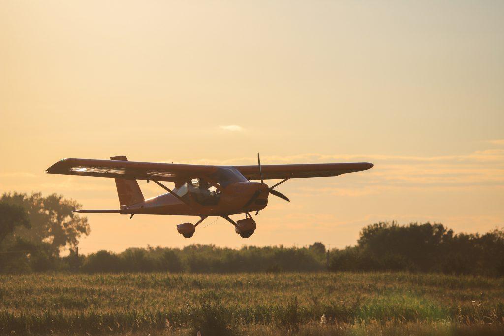 Landing an Airplane